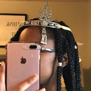 flapper inspired crown